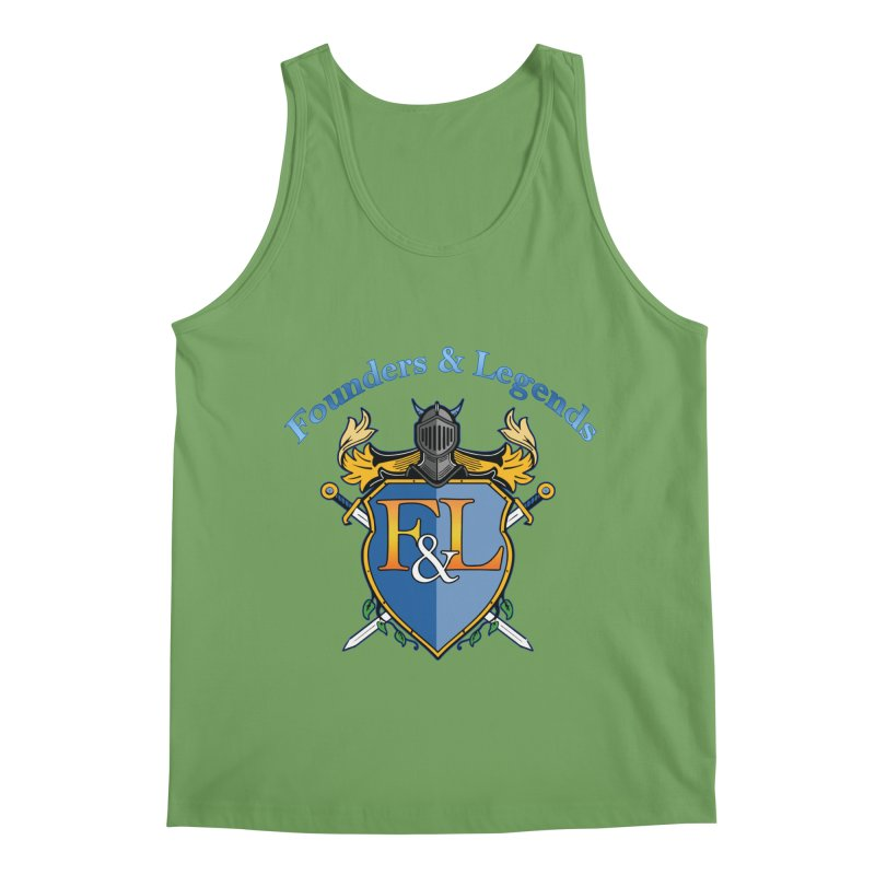 Founders and Legends Coat of Arms-Blue Men's Tank by Founders and Legends Merchandise Shop