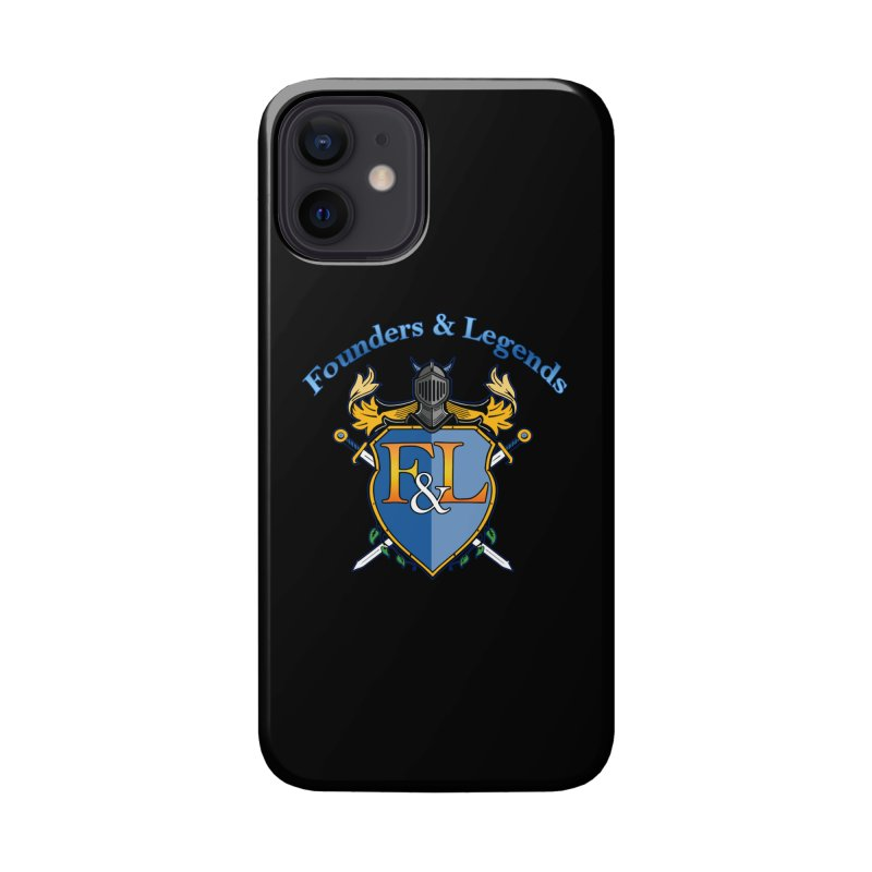 Founders and Legends Coat of Arms-Blue Accessories Phone Case by Founders and Legends Merchandise Shop