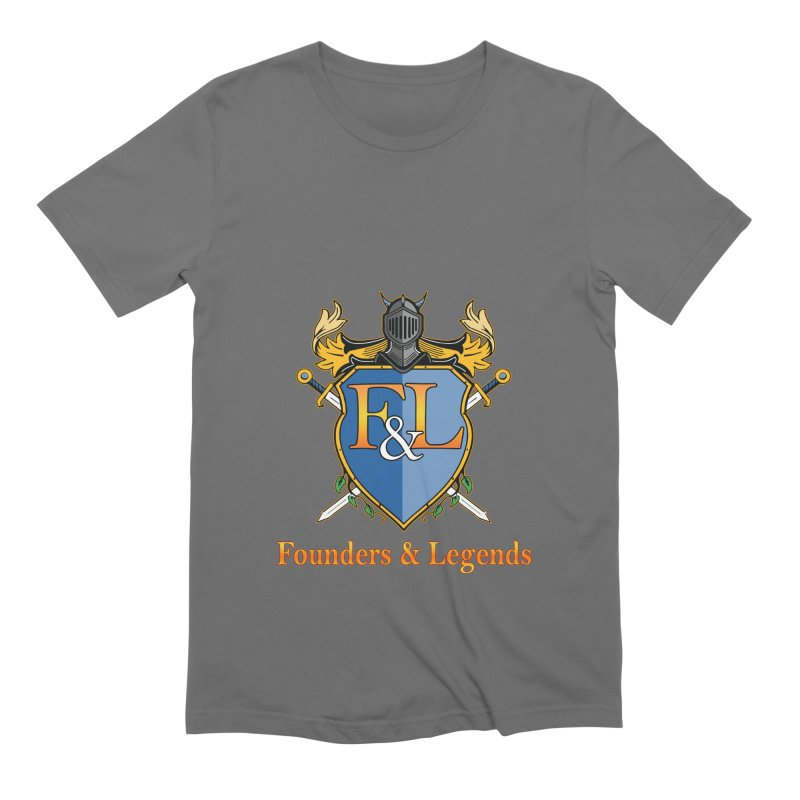 Founders & Legends Coat of Arms- Warm Men's T-Shirt by Founders and Legends Merchandise Shop