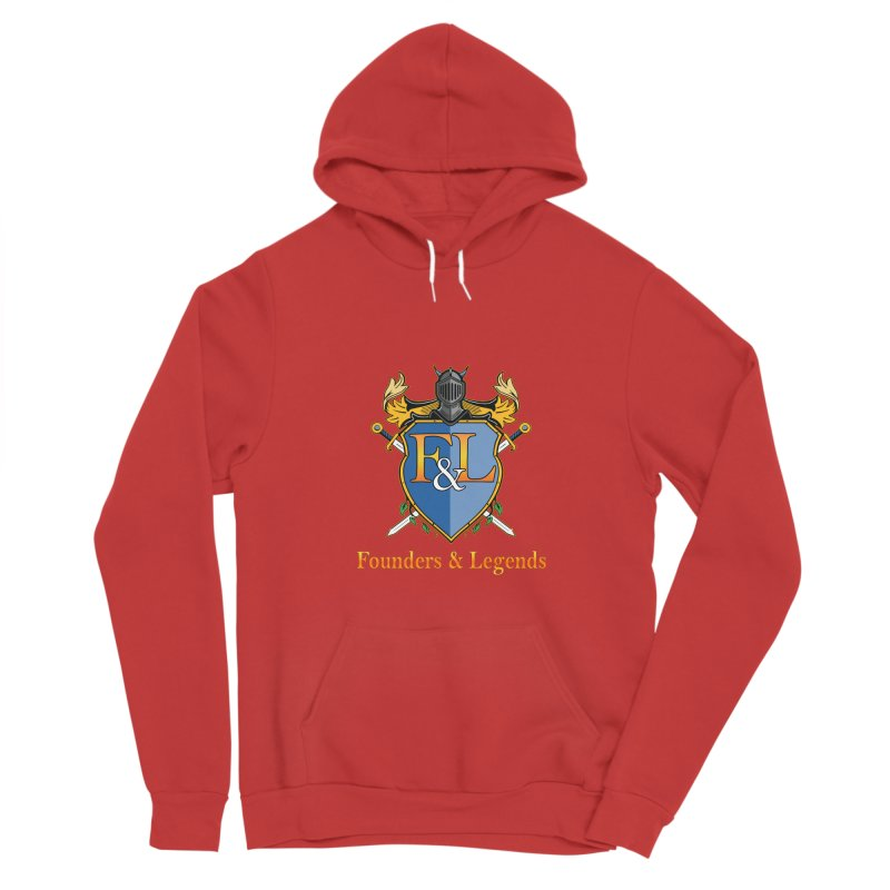 Founders & Legends Coat of Arms- Warm Men's Pullover Hoody by Founders and Legends Merchandise Shop