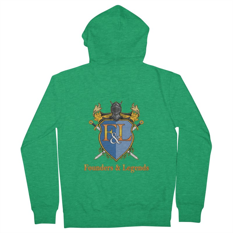 Founders & Legends Coat of Arms- Warm Men's Zip-Up Hoody by Founders and Legends Merchandise Shop