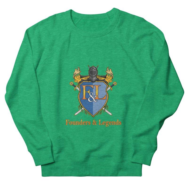 Founders & Legends Coat of Arms- Warm Women's Sweatshirt by Founders and Legends Merchandise Shop