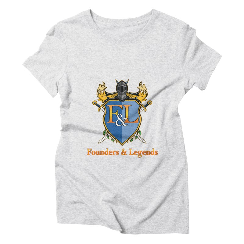 Founders & Legends Coat of Arms- Warm Women's T-Shirt by Founders and Legends Merchandise Shop