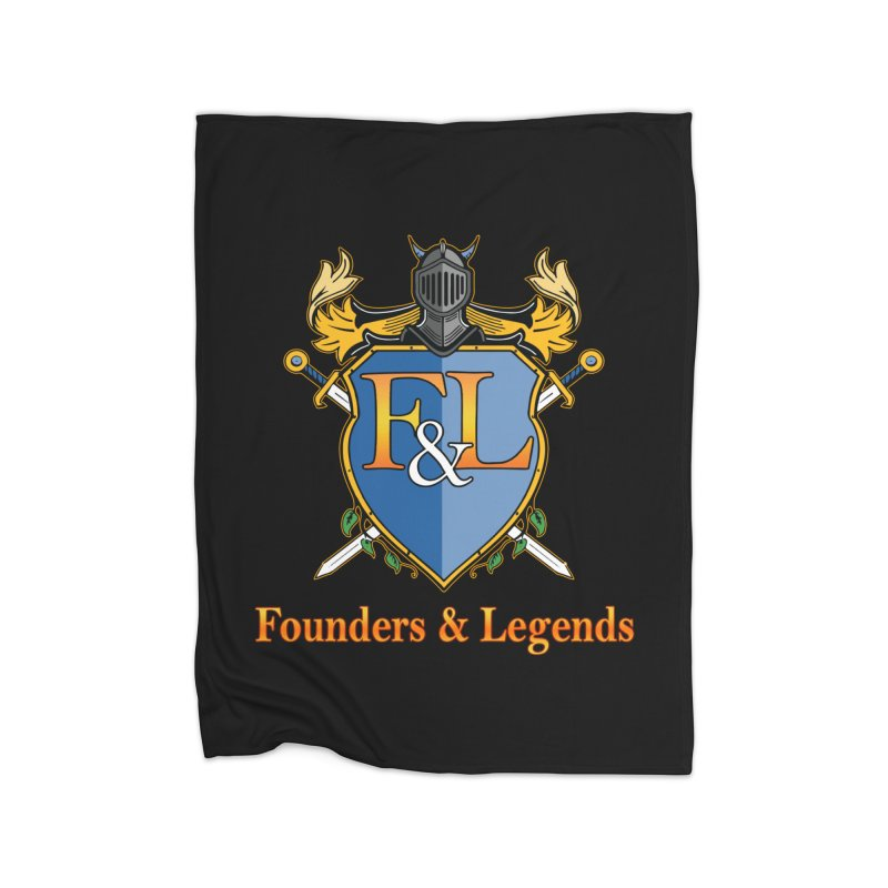 Founders & Legends Coat of Arms- Warm Home Blanket by Founders and Legends Merchandise Shop