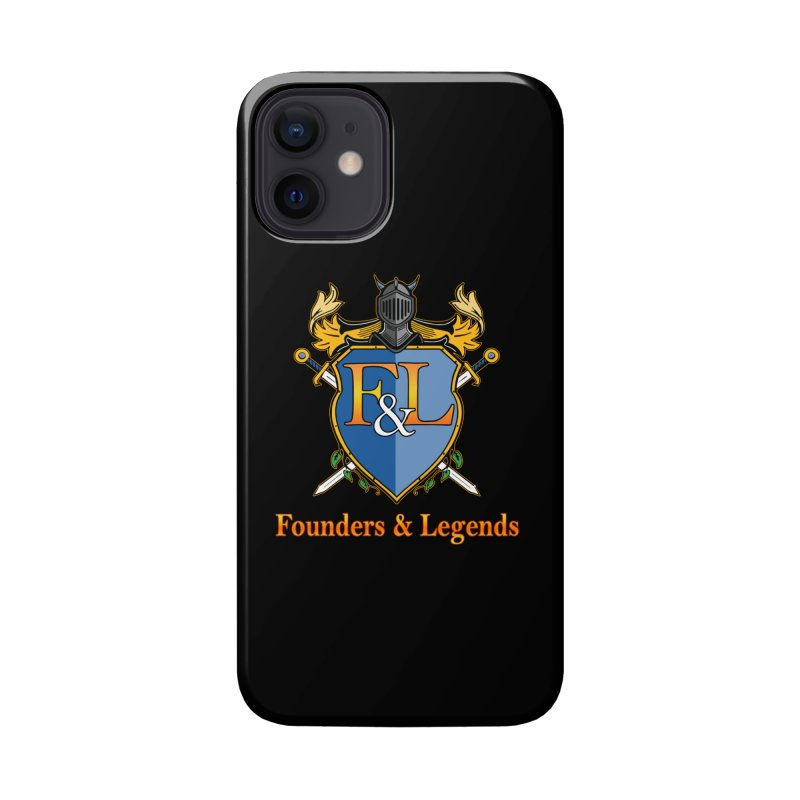 Founders & Legends Coat of Arms- Warm Accessories Phone Case by Founders and Legends Merchandise Shop