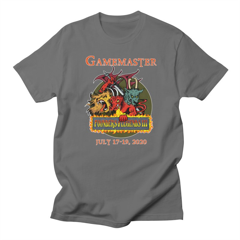 Founders & Legends III- EXCLUSIVE Game Master T-shirt Men's T-Shirt by Founders and Legends Merchandise Shop