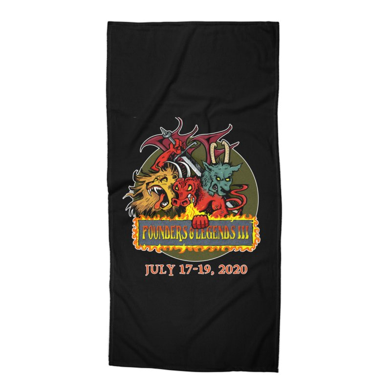 Founders & Legends III- Shirts and Home Accessories Design Accessories Beach Towel by Founders and Legends Merchandise Shop