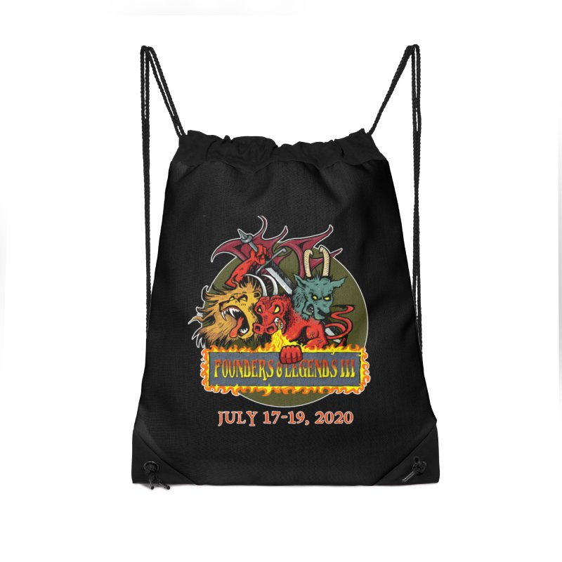 Founders & Legends III- Shirts and Home Accessories Design Accessories Bag by Founders and Legends Merchandise Shop