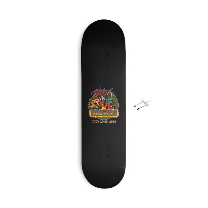 Founders & Legends III- Shirts and Home Accessories Design Accessories Skateboard by Founders and Legends Merchandise Shop