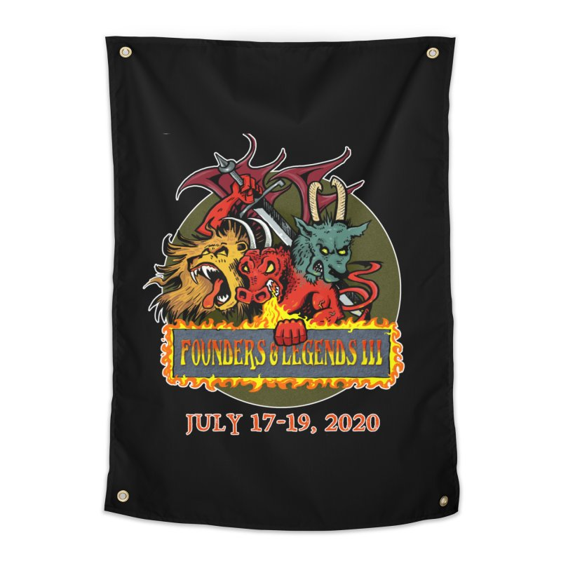 Founders & Legends III- Shirts and Home Accessories Design Home Tapestry by Founders and Legends Merchandise Shop