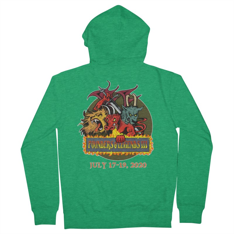 Founders & Legends III- Shirts and Home Accessories Design Men's Zip-Up Hoody by Founders and Legends Merchandise Shop