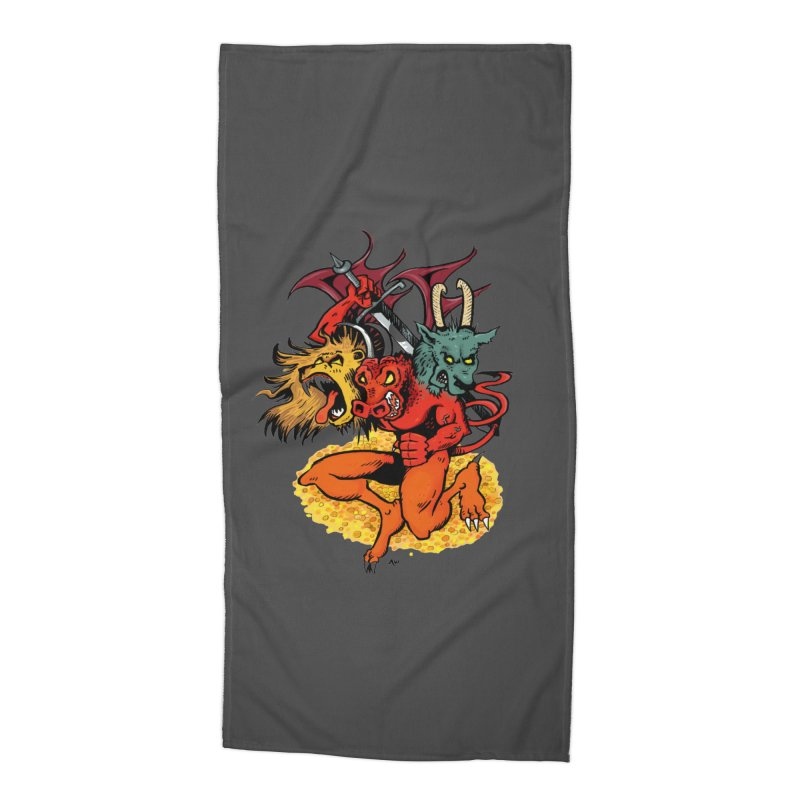 Founders & Legends III- Full Graphic Accessories Beach Towel by Founders and Legends Merchandise Shop