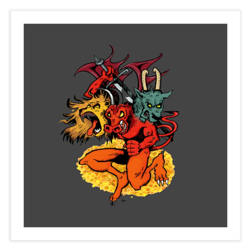 Founders & Legends III- Full Graphic Home Fine Art Print by Founders and Legends Merchandise Shop