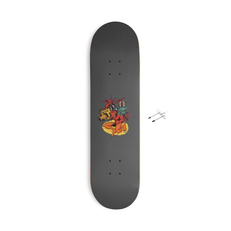 Founders & Legends III- Full Graphic Accessories Skateboard by Founders and Legends Merchandise Shop
