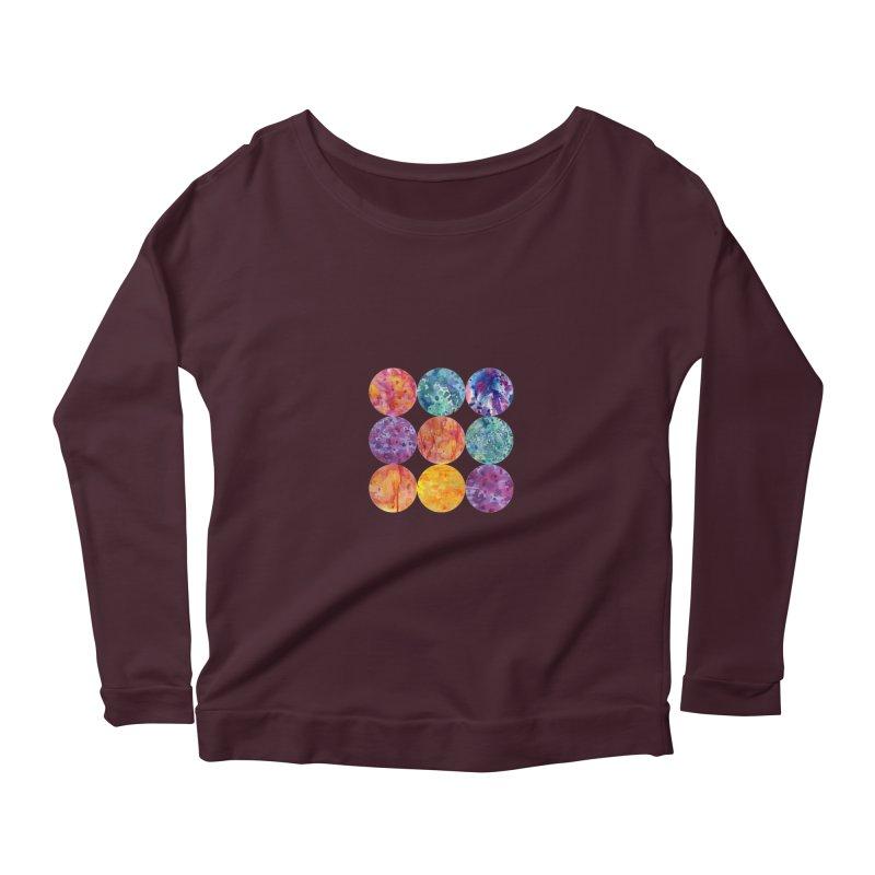 Multiverse Moons Women's Longsleeve T-Shirt by FoxandCrow's Artist Shop