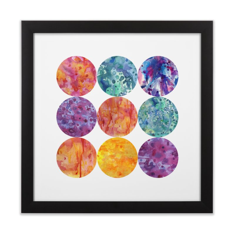 Multiverse Moons Home Framed Fine Art Print by FoxandCrow's Artist Shop