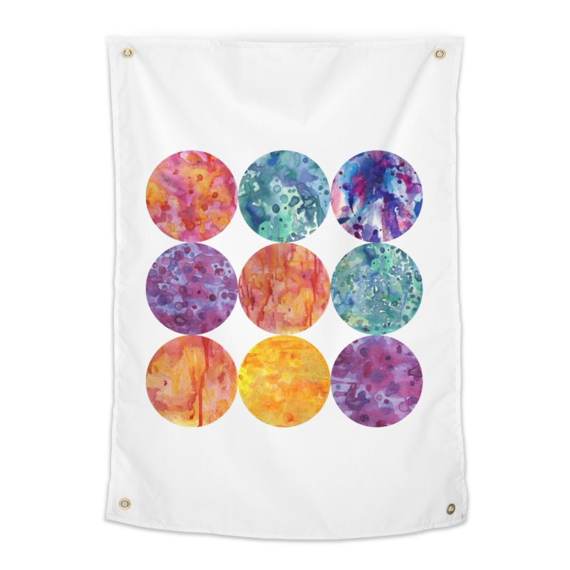 Multiverse Moons Home Tapestry by FoxandCrow's Artist Shop