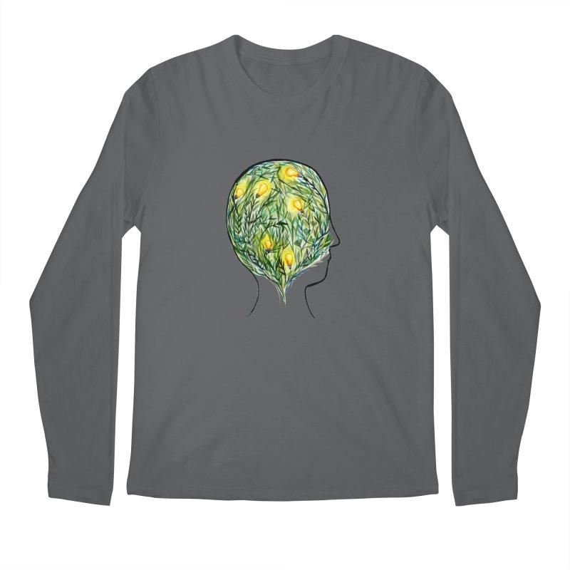 Garden of Your Mind Men's Longsleeve T-Shirt by FoxandCrow's Artist Shop