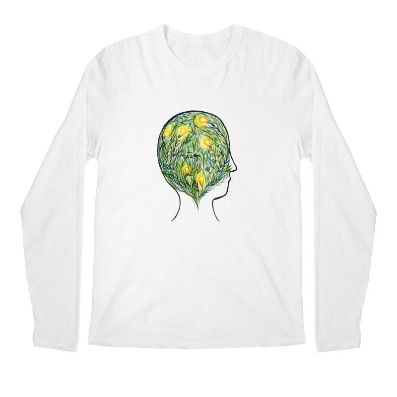Garden of Your Mind Men's Regular Longsleeve T-Shirt by FoxandCrow's Artist Shop