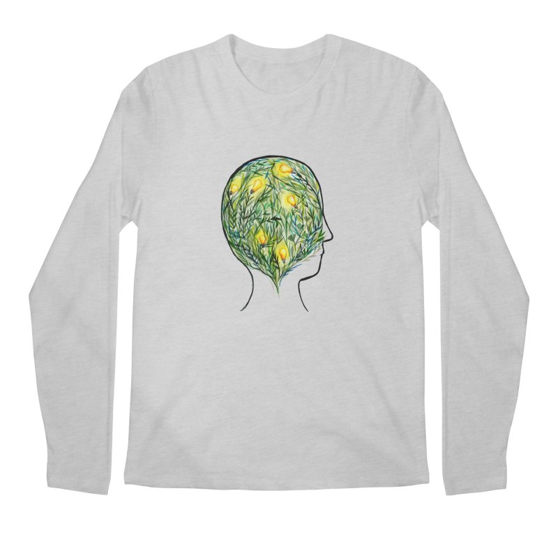 Garden of Your Mind Men's Regular Longsleeve T-Shirt by FoxandCrow's Artist Shop