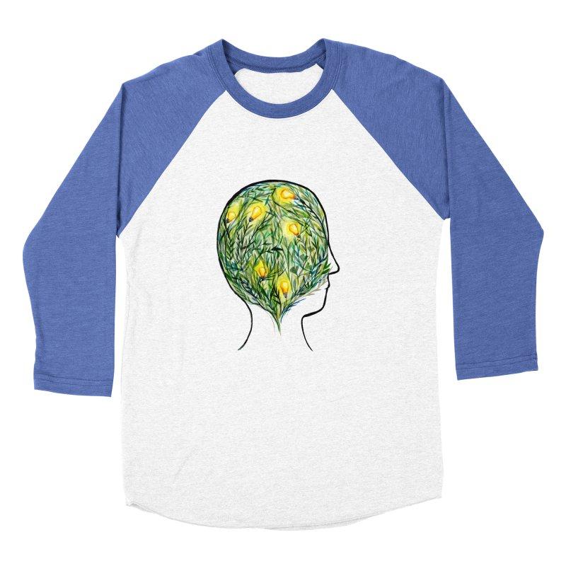 Garden of Your Mind Women's Baseball Triblend Longsleeve T-Shirt by FoxandCrow's Artist Shop