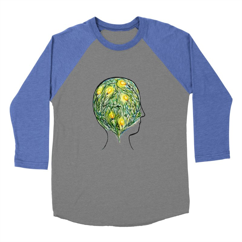 Garden of Your Mind Women's Baseball Triblend Longsleeve T-Shirt by FoxandCrow's Artist Shop