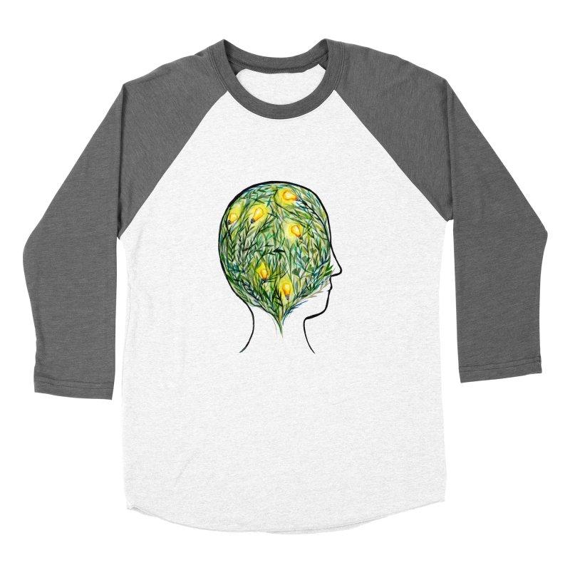 Garden of Your Mind Men's Baseball Triblend Longsleeve T-Shirt by FoxandCrow's Artist Shop