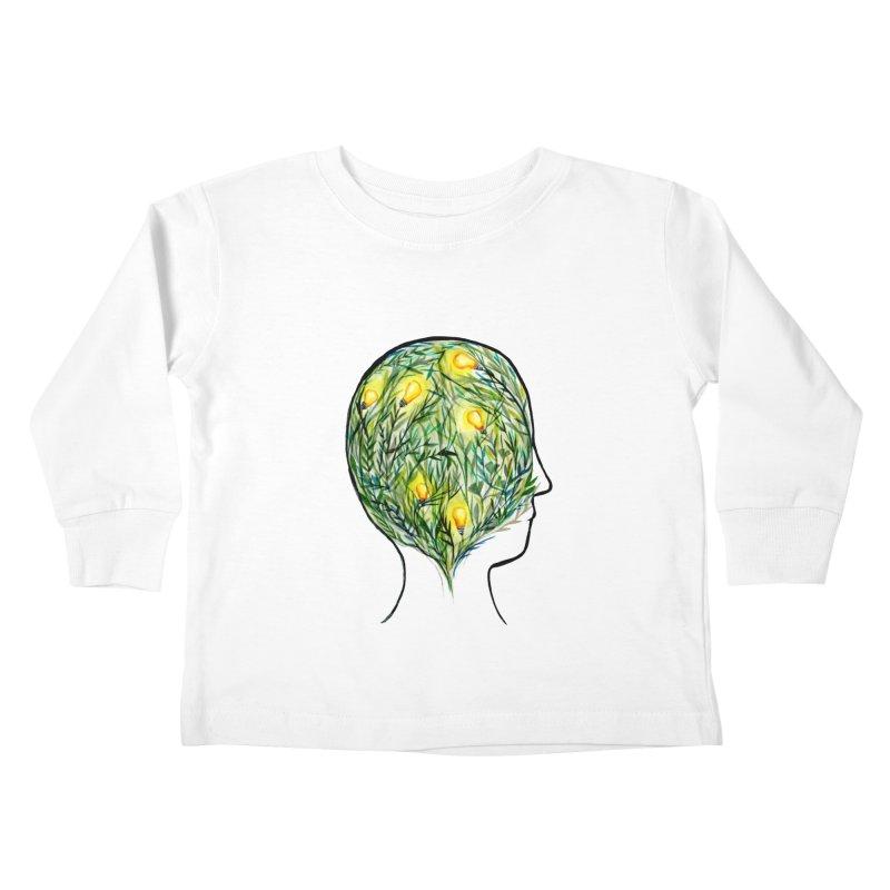 Garden of Your Mind Kids Toddler Longsleeve T-Shirt by FoxandCrow's Artist Shop