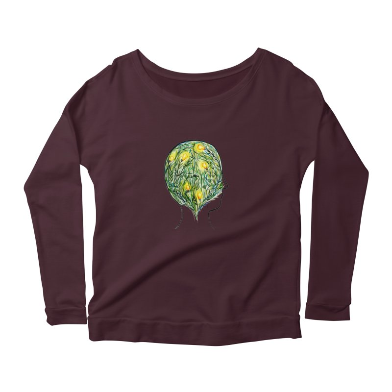 Garden of Your Mind Women's Longsleeve T-Shirt by FoxandCrow's Artist Shop
