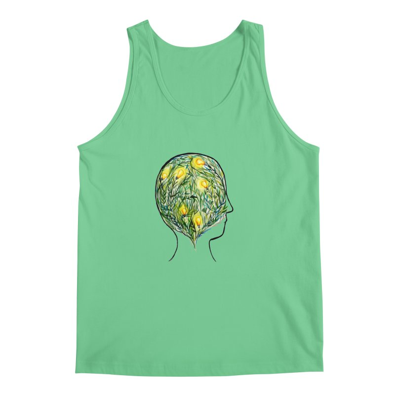 Garden of Your Mind Men's Regular Tank by FoxandCrow's Artist Shop