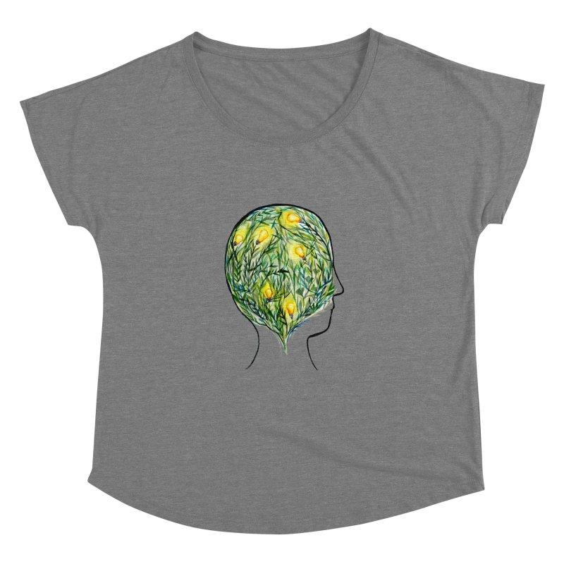 Garden of Your Mind Women's Scoop Neck by FoxandCrow's Artist Shop