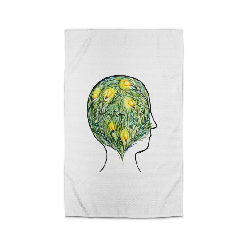 Garden of Your Mind Home Rug by FoxandCrow's Artist Shop