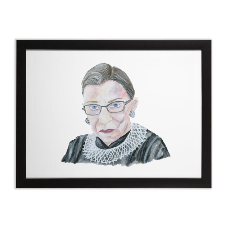 RBG Home Framed Fine Art Print by FoxandCrow's Artist Shop
