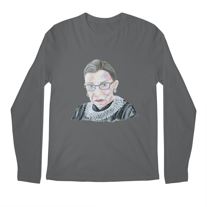 RBG Men's Longsleeve T-Shirt by FoxandCrow's Artist Shop