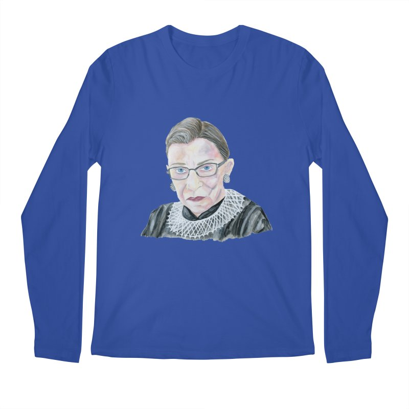 RBG Men's Regular Longsleeve T-Shirt by FoxandCrow's Artist Shop