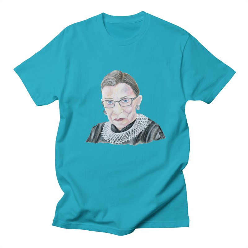 RBG Men's Regular T-Shirt by FoxandCrow's Artist Shop