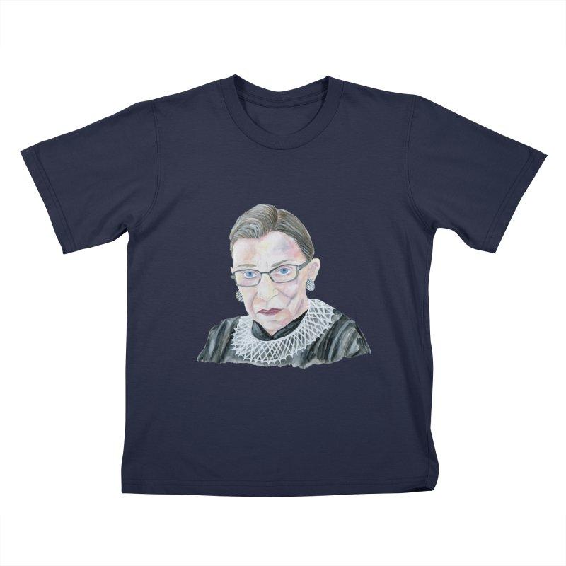RBG Kids T-Shirt by FoxandCrow's Artist Shop