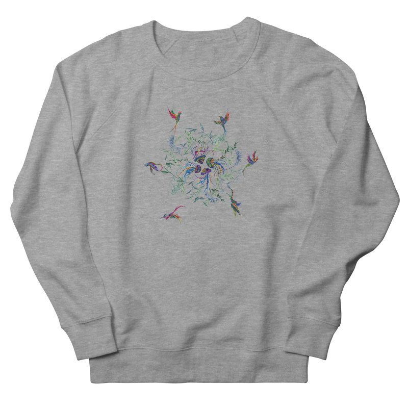 Fly in the Sea Men's Sweatshirt by FoxandCrow's Artist Shop