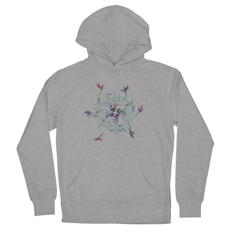 Fly in the Sea Women's French Terry Pullover Hoody by FoxandCrow's Artist Shop