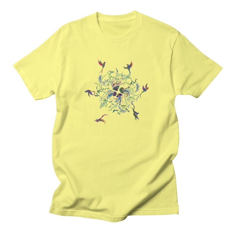 Fly in the Sea Men's Regular T-Shirt by FoxandCrow's Artist Shop