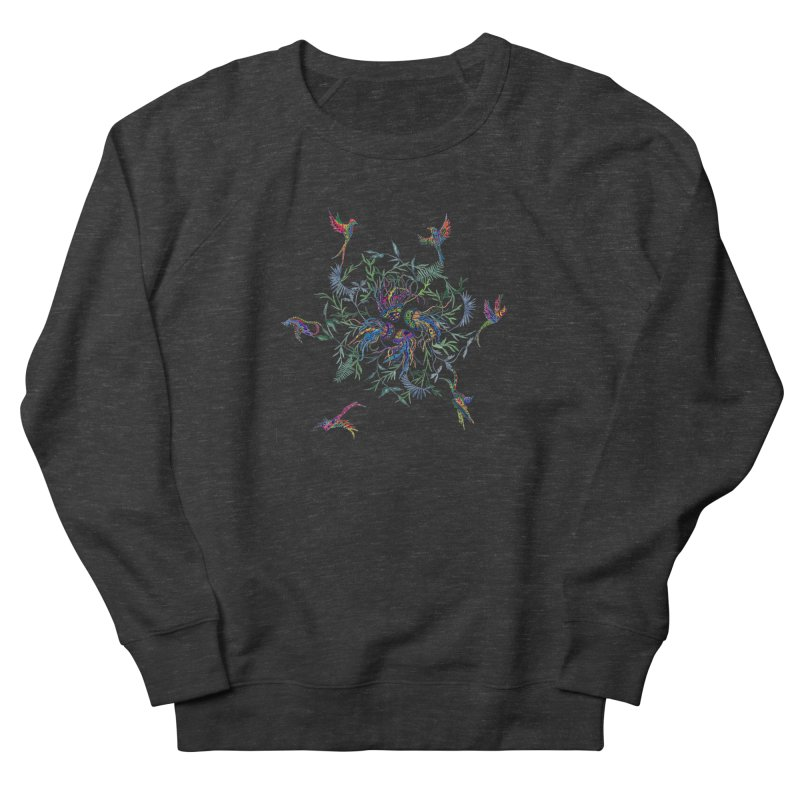 Fly in the Sea Men's French Terry Sweatshirt by FoxandCrow's Artist Shop