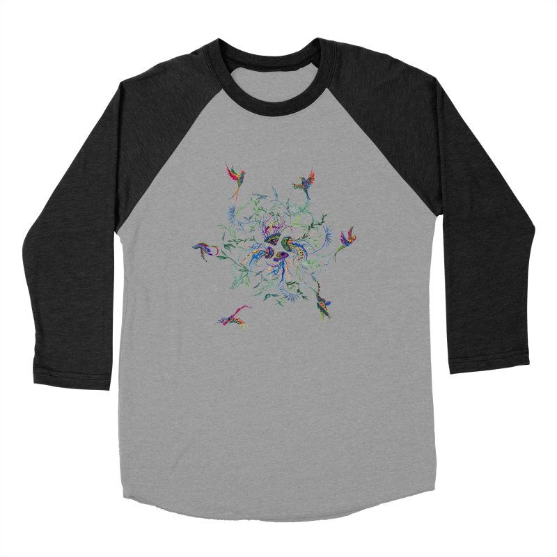 Fly in the Sea Men's Baseball Triblend Longsleeve T-Shirt by FoxandCrow's Artist Shop