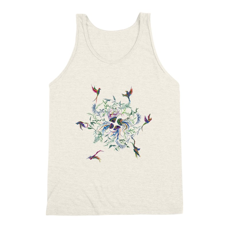 Fly in the Sea Men's Triblend Tank by FoxandCrow's Artist Shop