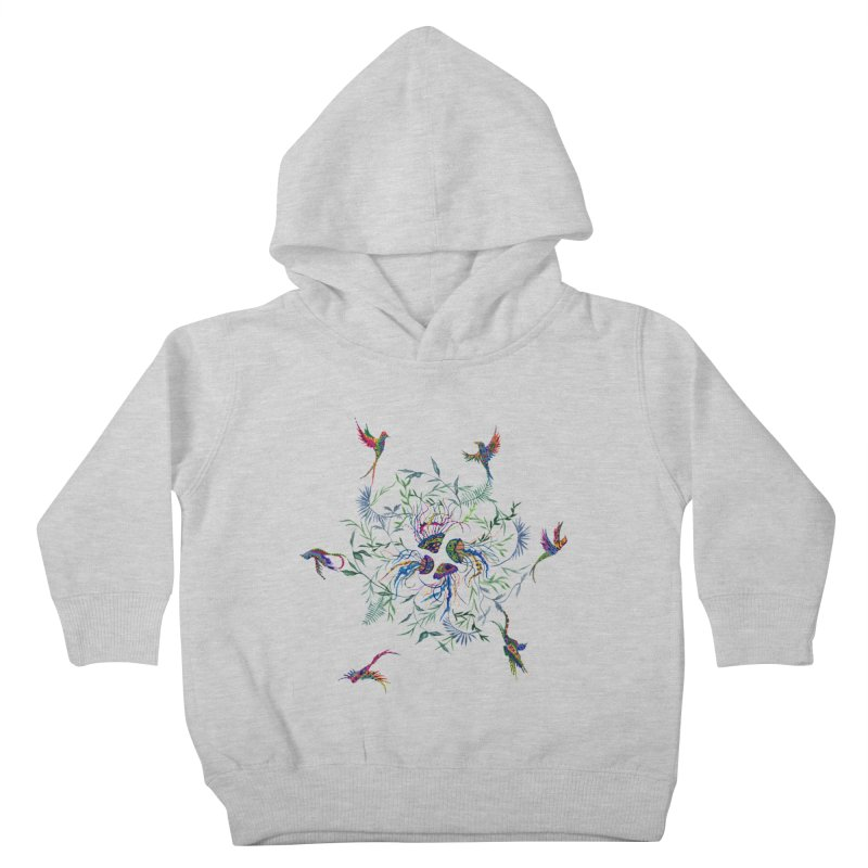 Fly in the Sea Kids Toddler Pullover Hoody by FoxandCrow's Artist Shop