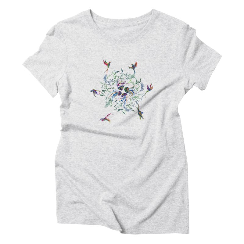 Fly in the Sea Women's T-Shirt by FoxandCrow's Artist Shop