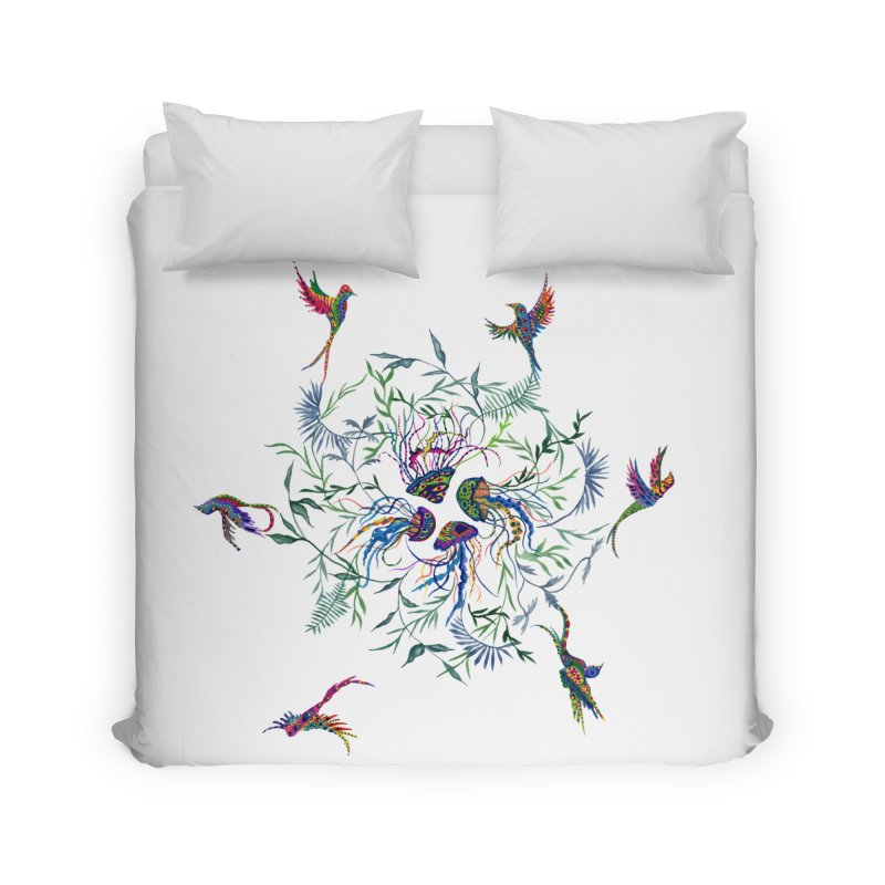 Fly in the Sea Home Duvet by FoxandCrow's Artist Shop