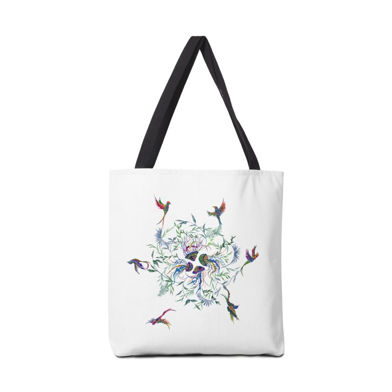Fly in the Sea Accessories Tote Bag Bag by FoxandCrow's Artist Shop