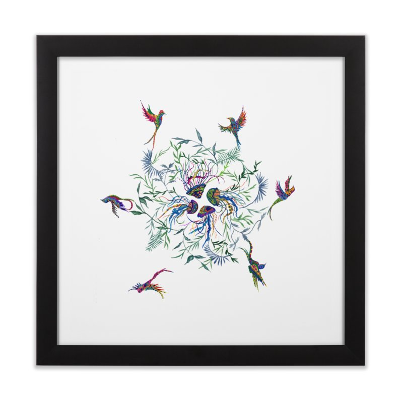 Fly in the Sea Home Framed Fine Art Print by FoxandCrow's Artist Shop