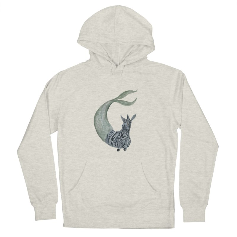 MerBra Men's French Terry Pullover Hoody by FoxandCrow's Artist Shop