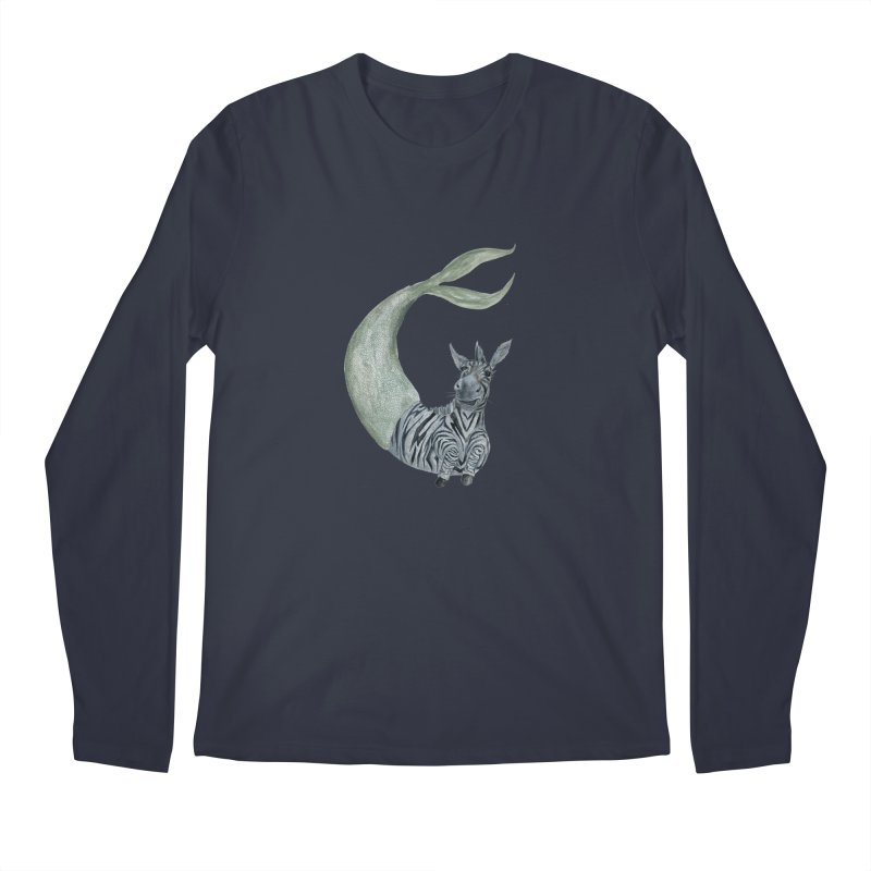 MerBra Men's Regular Longsleeve T-Shirt by FoxandCrow's Artist Shop